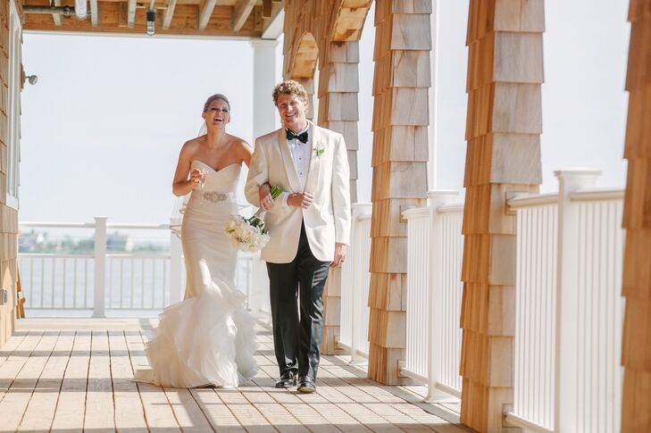 A Rustic Barn Wedding With Vintage Nautical Twist At The Bay Head Yacht Club In New Jersey
