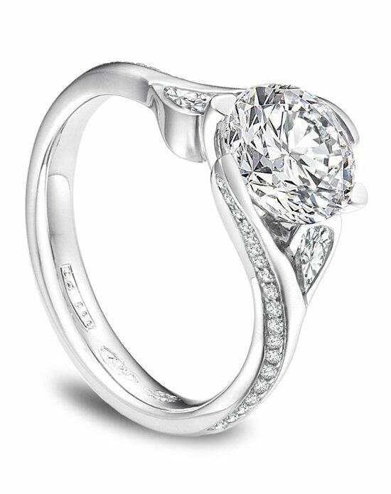 Platinum Must Haves MaeVona 3-stone Diamond and Platinum Ring Engagement Ring photo