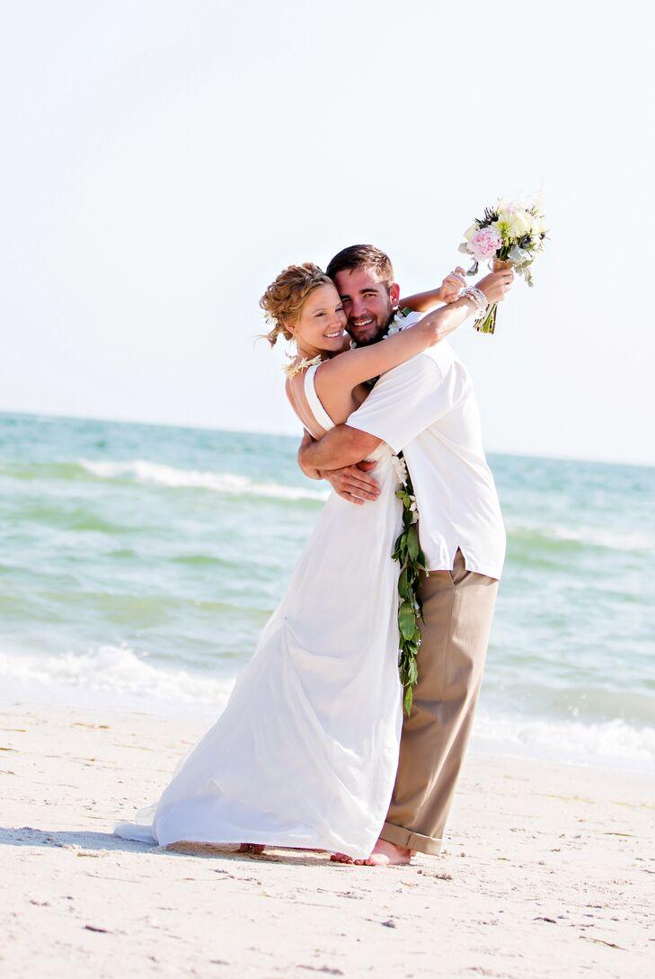 A Casual Beach Wedding At Bonita Bay Club In Springs Florida