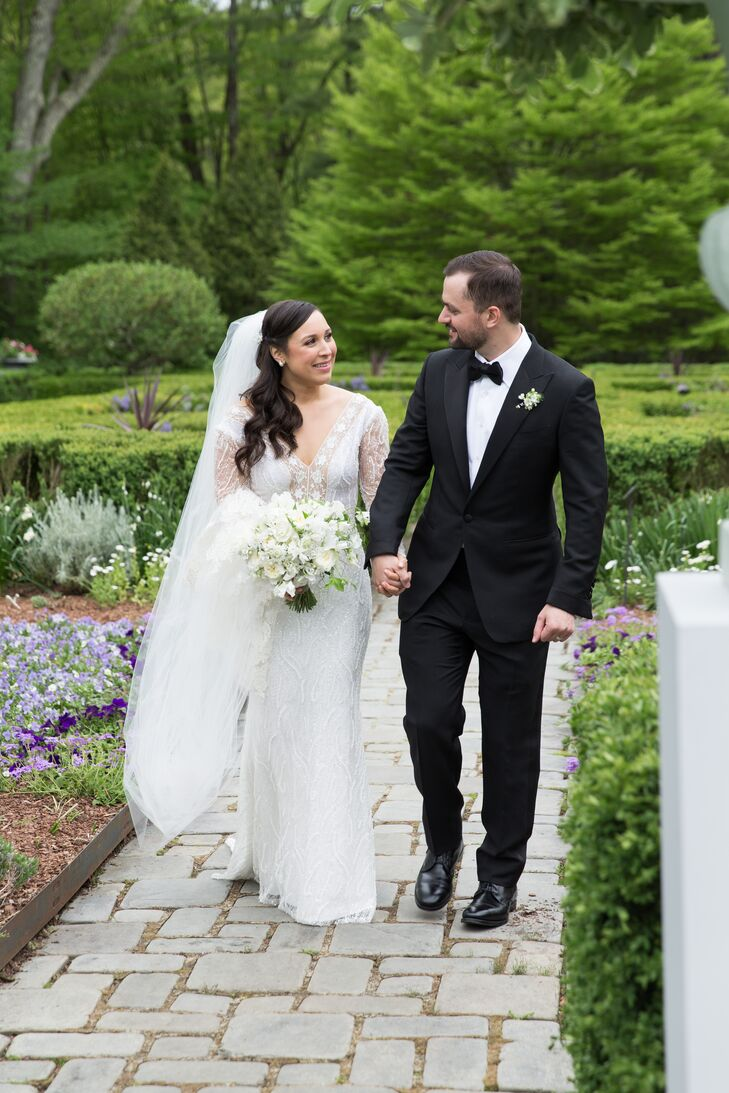 Modern Lace Lihi Hod Gown and Tom Ford Tux