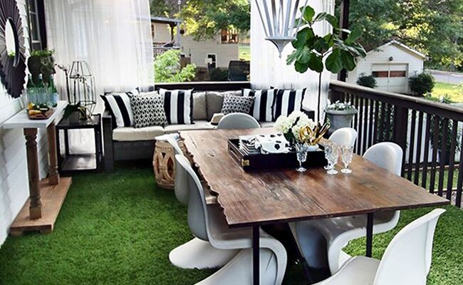 3 Ways to Style a Classy, Modern Outdoor Living Room