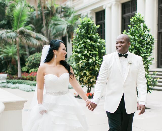 An Elegant Champagne And Gold Wedding At The Breakers Palm Beach In Florida