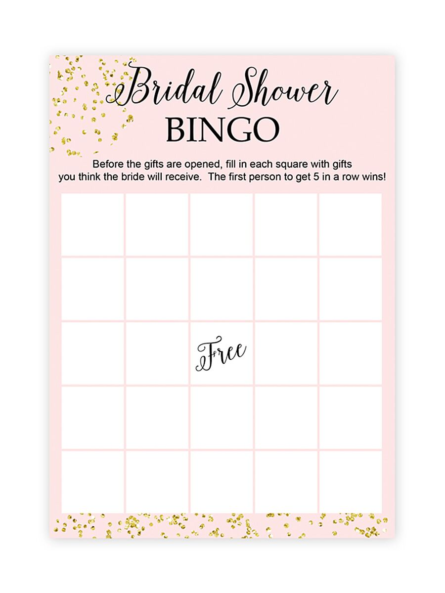 10 printable bridal shower games to diy solutioingenieria Gallery
