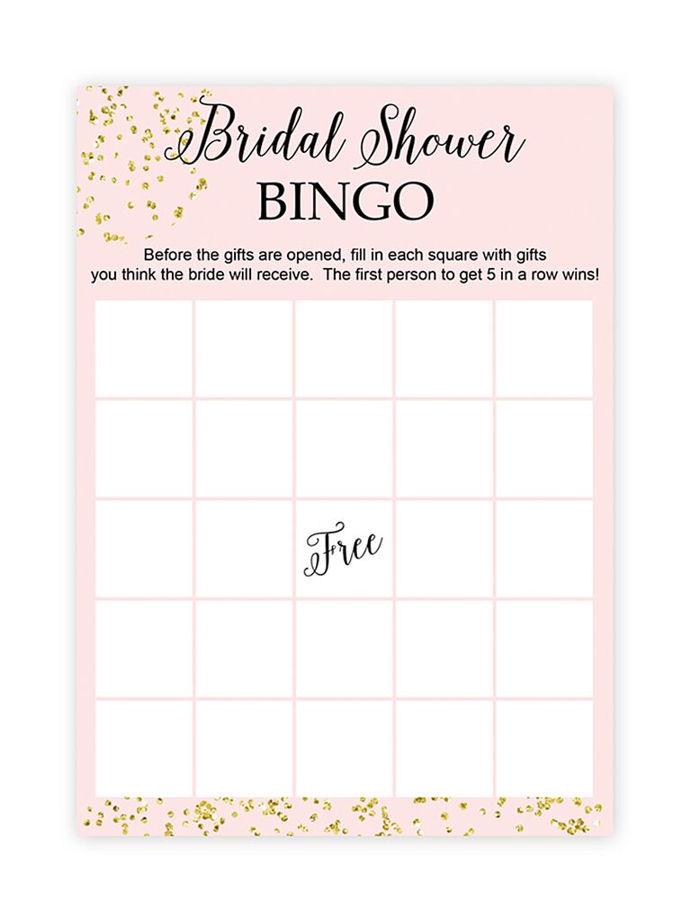10 printable bridal shower games to diy diy bridal shower bingo solutioingenieria Images