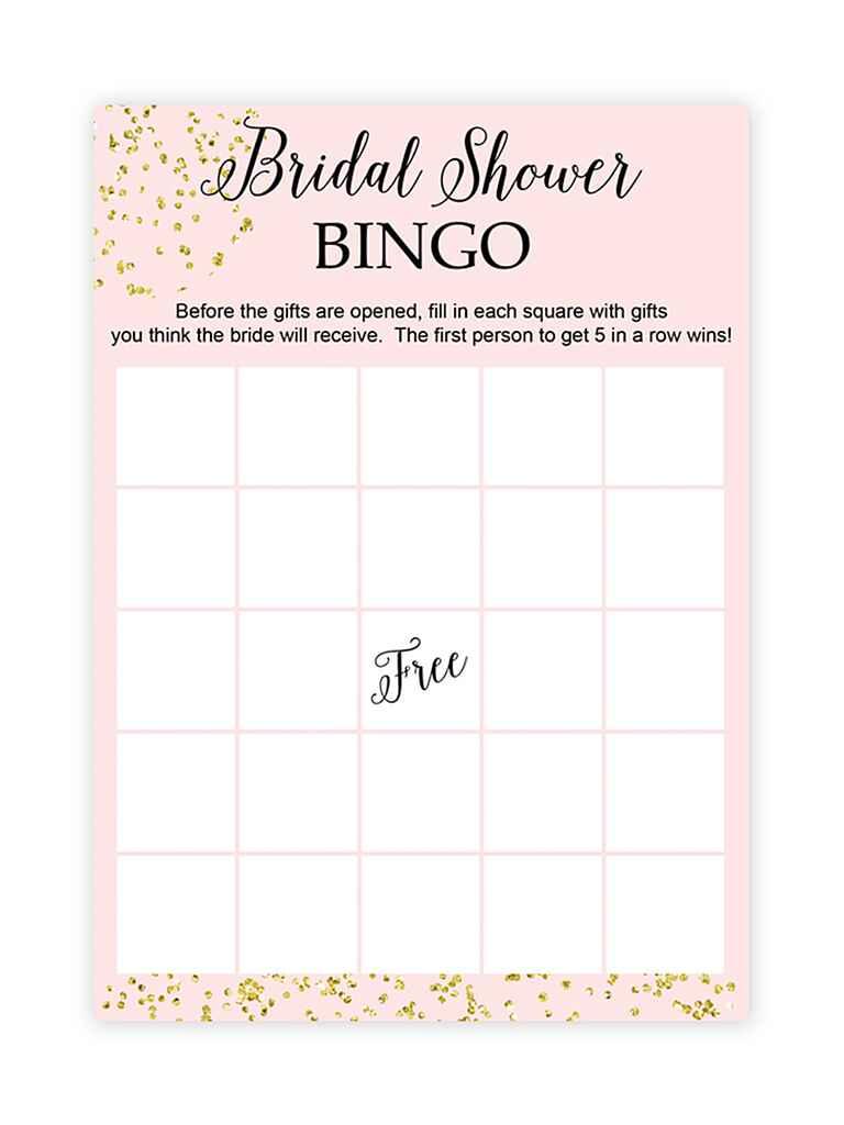 Slobbery image throughout free printable bridal bingo