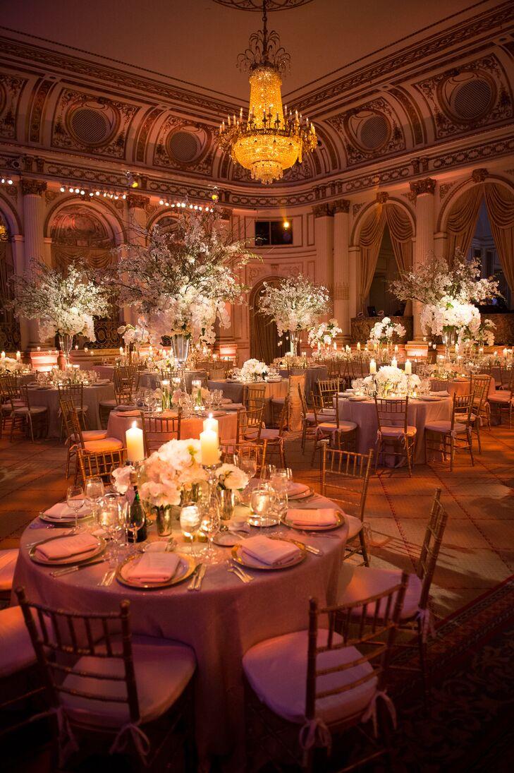 the plaza wedding reception