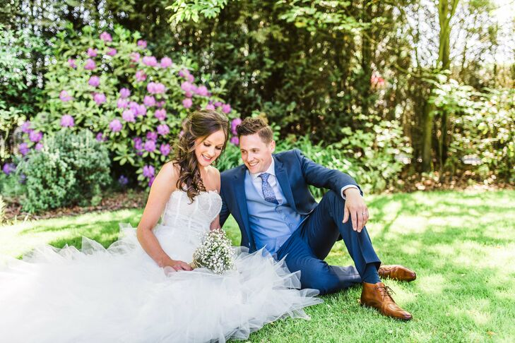 For their wedding, Amanda Ooijen (28 and a content marketer) and Jan Roeffen (29 and a human resources profe