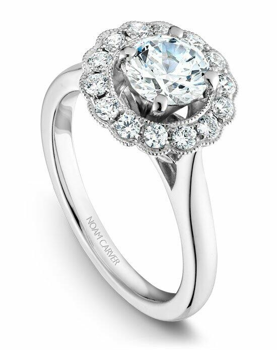 Noam Carver B086-01WS-100A Engagement Ring photo