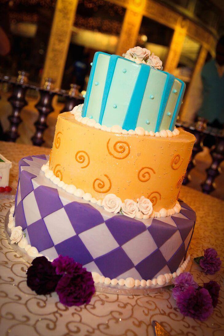 Mad Hatter Styled Wedding Cake