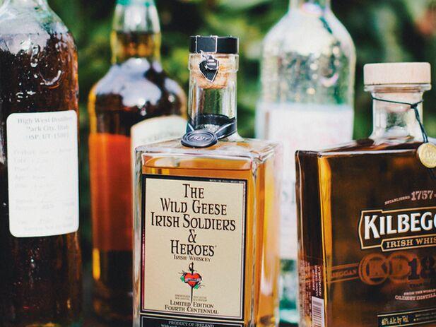 Liquor For Wedding Reception Bar