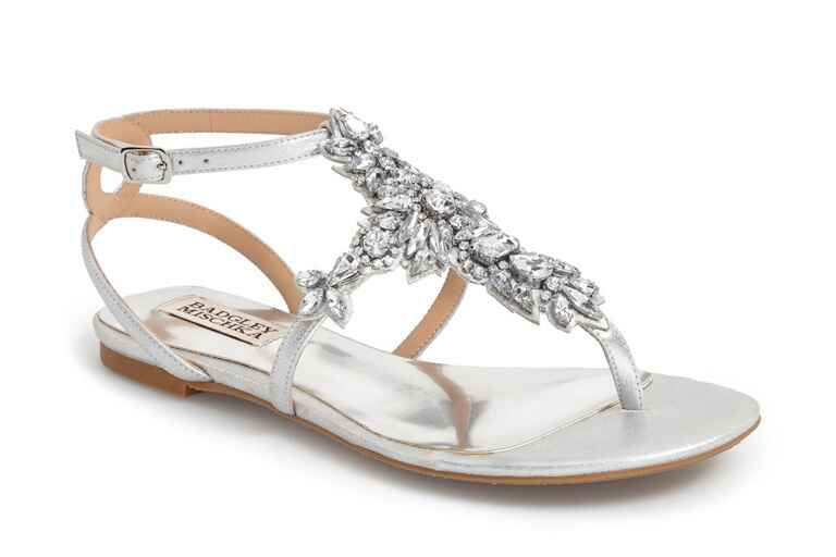 Badgley Mischka Cara II Evening Flat Sandals