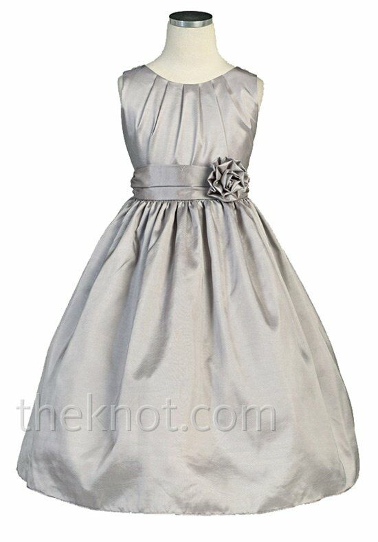 Pink Princess DSK355 Flower Girl Dress photo
