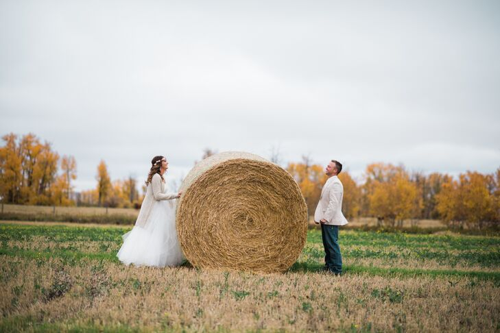 A Whimsical Rustic Farm Wedding At Private Residence In Leduc Alberta