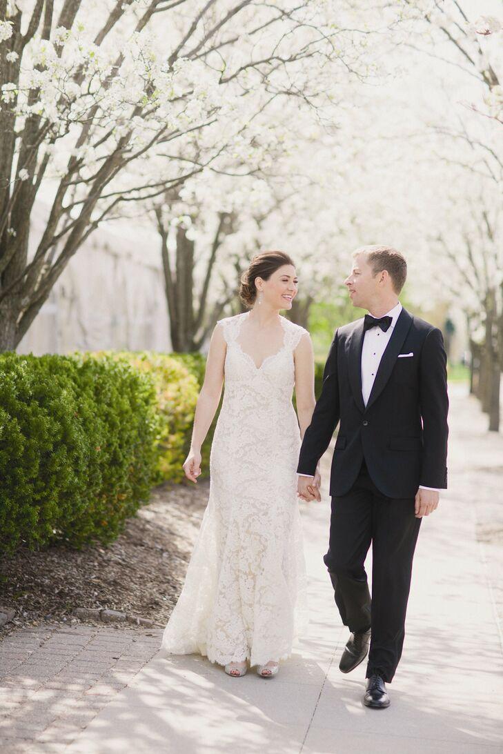 A Romantic, Jewish Wedding in Birmingham, MI
