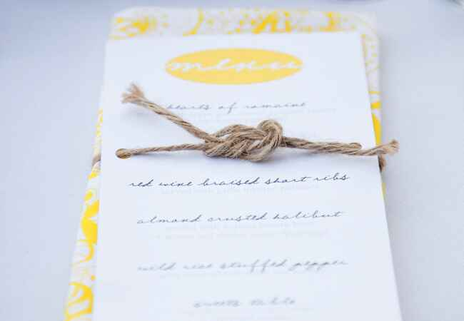 Photo: Erin Hearts Court // Featured: The Knot Blog