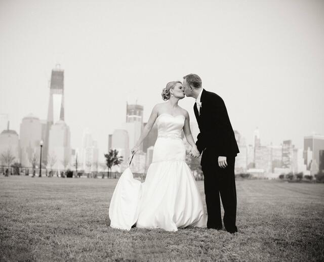 A Polished And Contemporary Wedding In Jersey City NJ