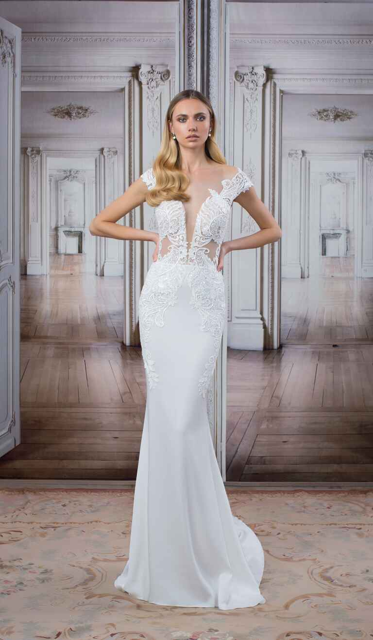 See every new pnina tornai wedding dress from the love for Wedding dress shops new york
