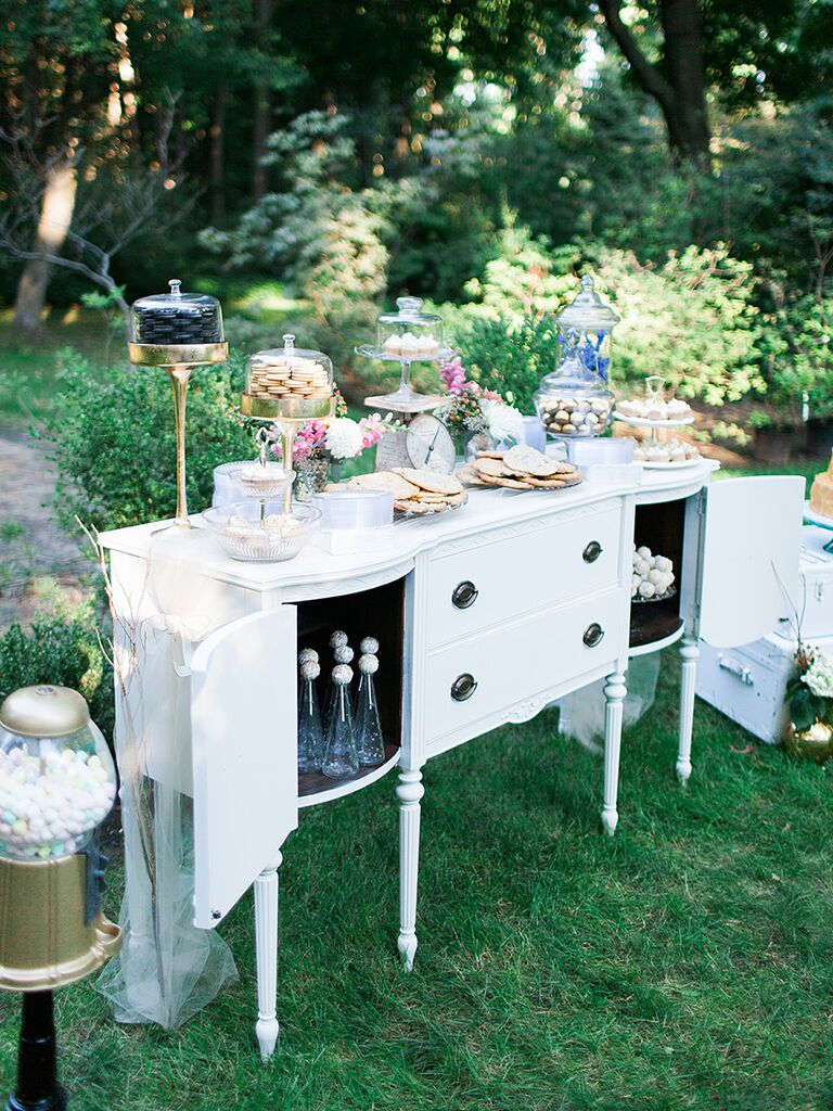 20 creative wedding dessert buffet ideas