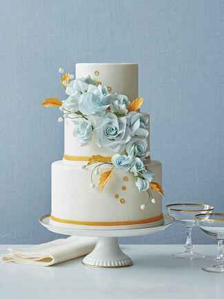 Wedding cake by Cheryl Kleinman for Betty Bakery cake