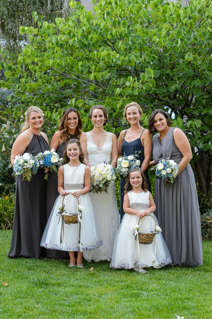 The Bridesmaids Included Leah S Sister In Law Her Best Friend From Medical School