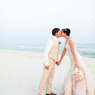 A Beach Wedding in Fort Morgan