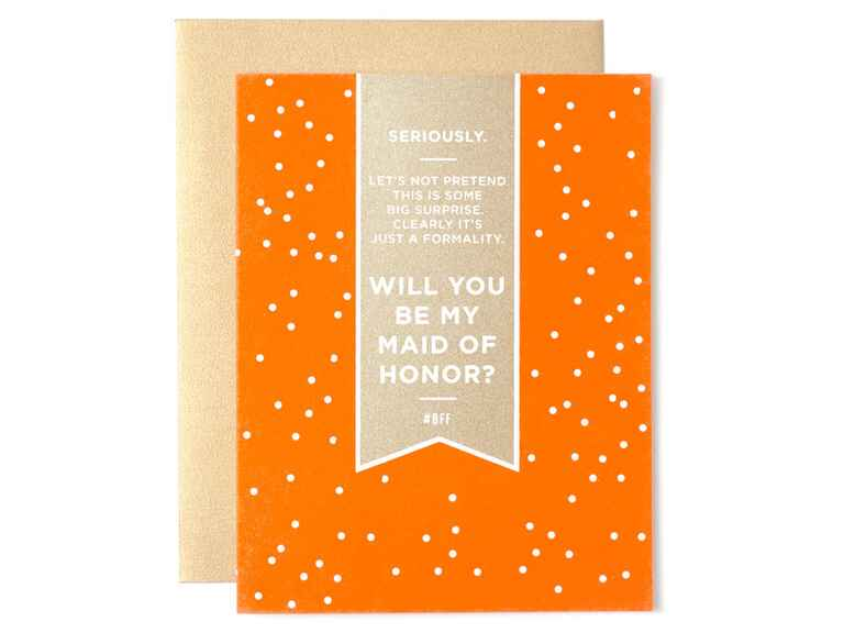 Fig2 maid of honor proposal card