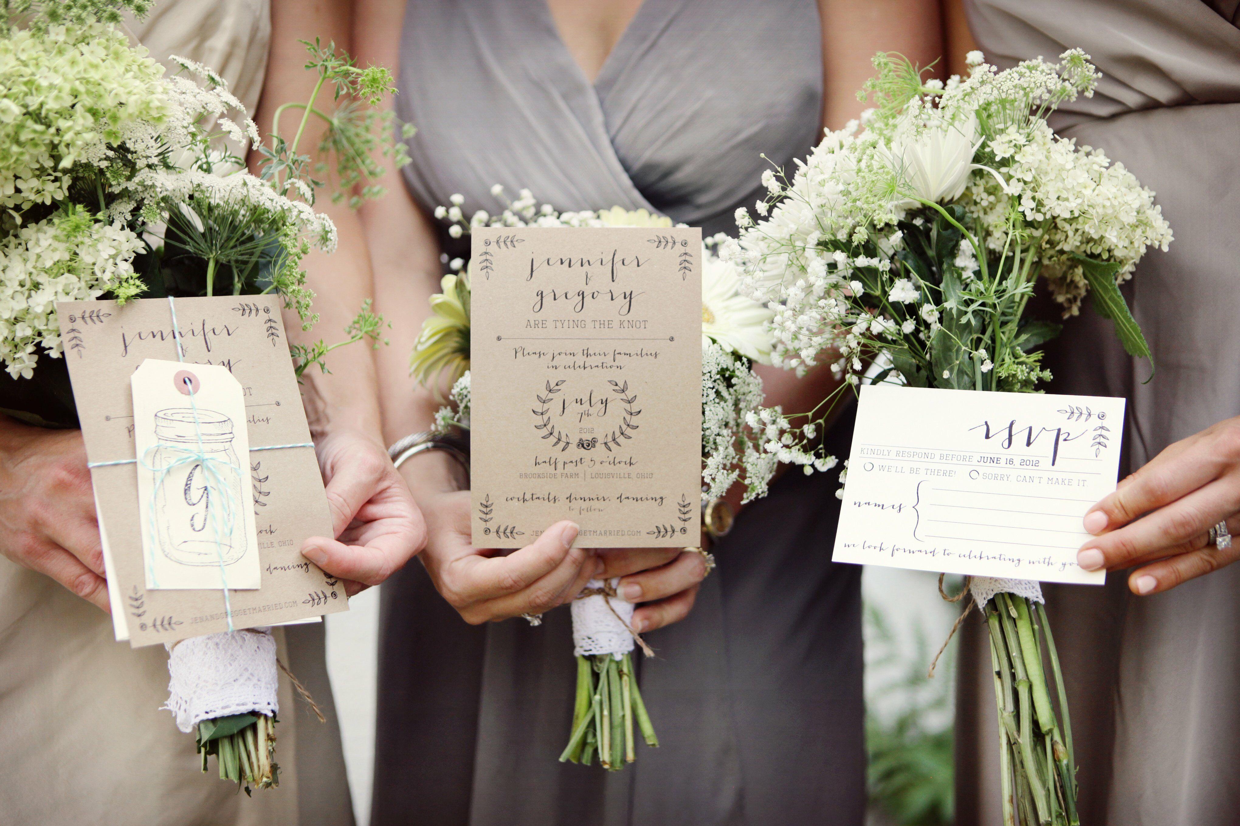 whimsical wedding invitations, Wedding invitations