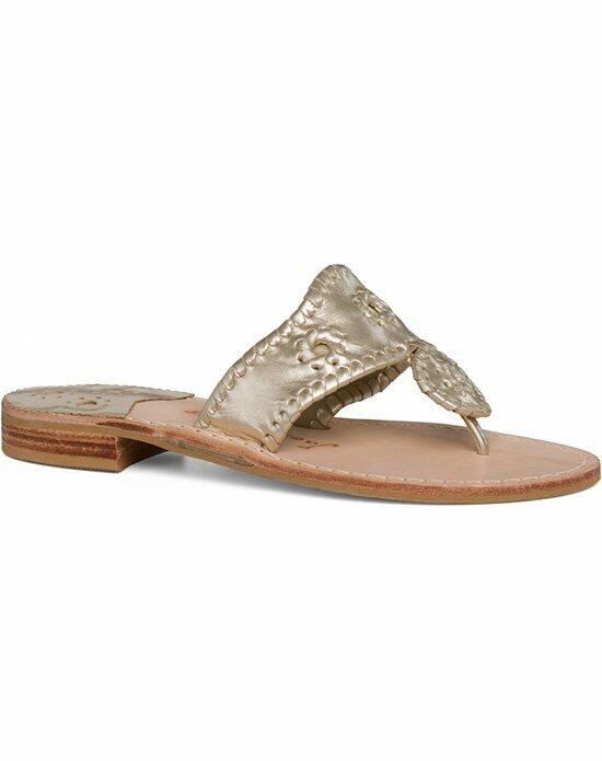 Jack Rogers Classic Sandal-Champagne Wedding Shoes photo