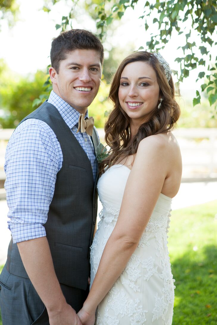 a casual backyard wedding in santa barbara california