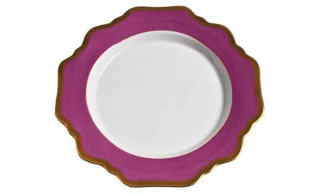 Anna Weatherley Palette Dinner Plate / The Knot blog
