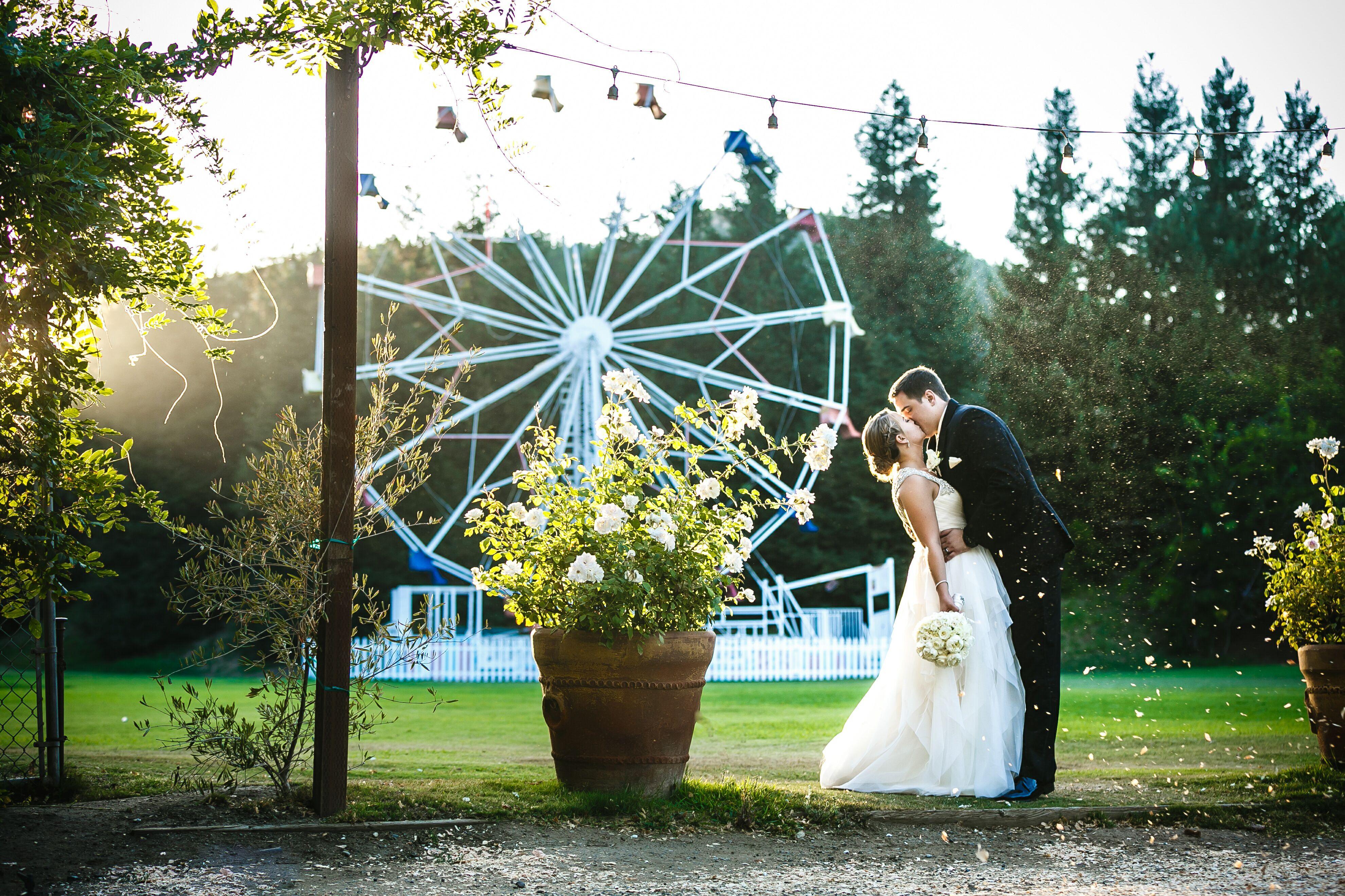 An Elegant Outdoor Wedding At Calamingos Ranch In Malibu