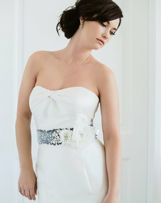 Sara Gabriel Alex Sash Wedding Accessory photo