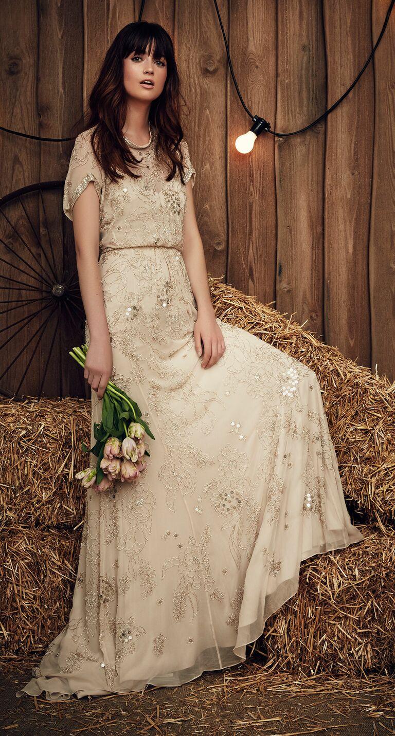Jenny Packham Spring 2017 Collection: Bridal Fashion Week Photos