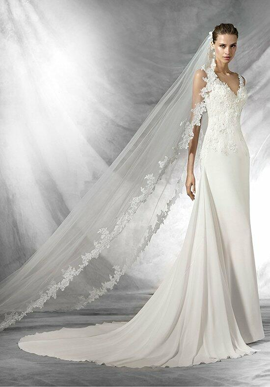 Pronovias pladie wedding dress the knot for Pronovias wedding dresses price range