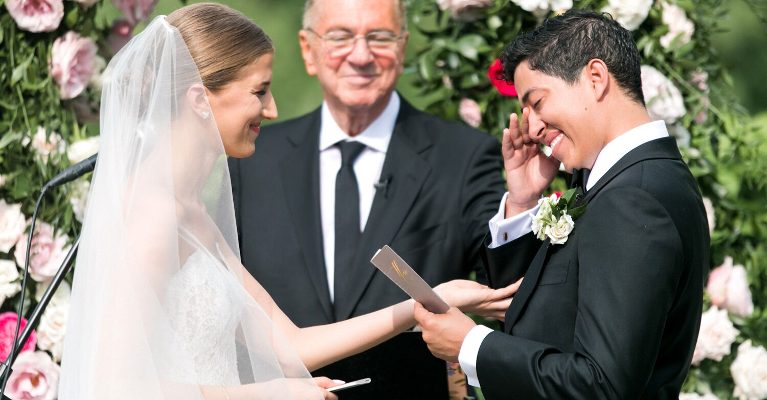 The Best Real Wedding Vow Examples To Inspire Your Own