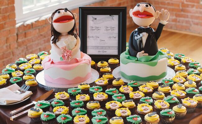 Muppet Wedding Cake