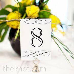 Yellow centerpieces - Nom de fleur pour table mariage ...