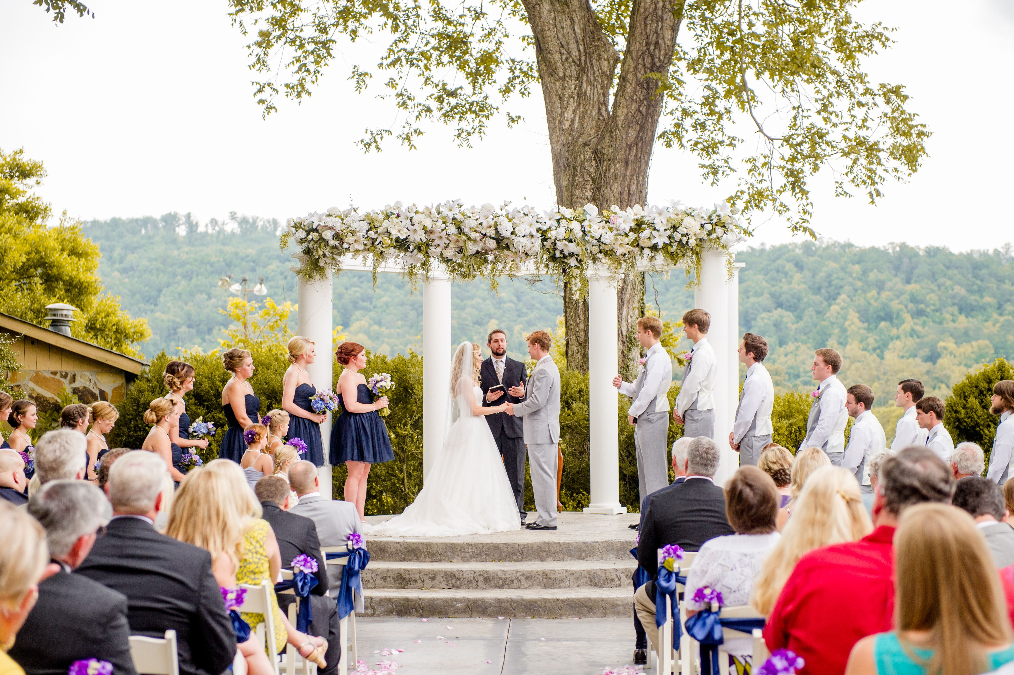 Outdoor Tate House Ceremony