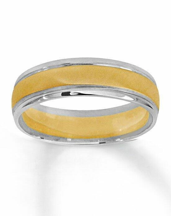 Kay Jewelers 10K Two-Tone Gold Wedding band-251776100 Wedding Ring photo