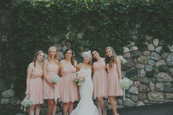 Flower Garden Eaton Rapids Michigan: Ashley's Pink And Mint Bouquet