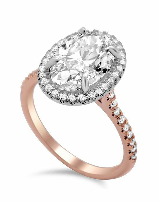 Timeless Designs R1104-OV Engagement Ring photo