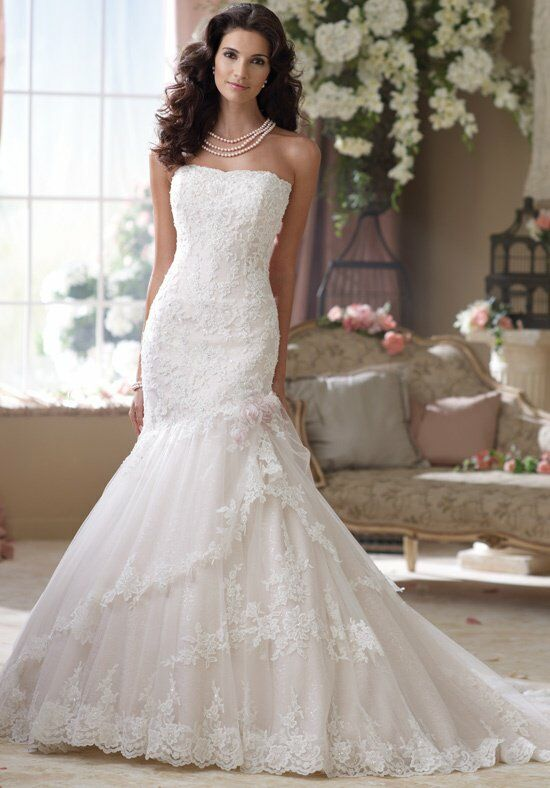 David Tutera for Mon Cheri 114291 Wedding Dress photo