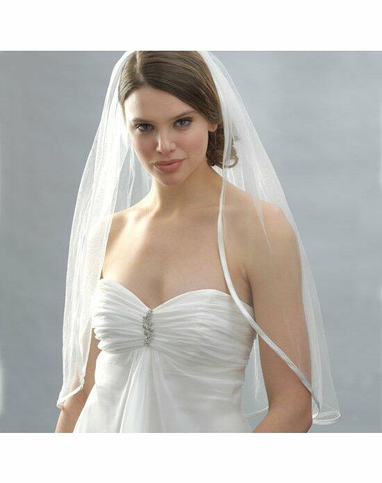 USABride 1 Layer, Ribbon Edge Veil VB-424 Wedding Veils photo