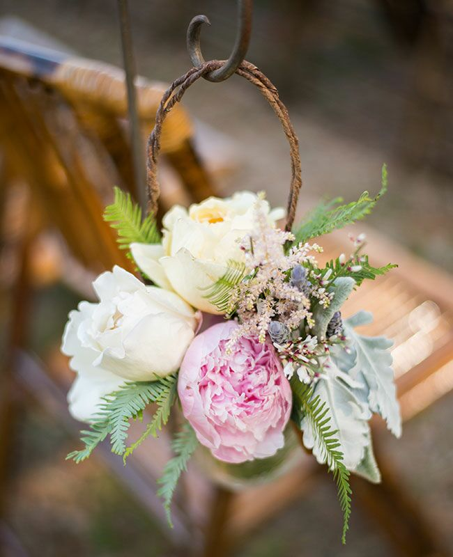 Dusty miller leaves are the perfect textured accent for your wedding dusty miller ceremony decor blogeknot mightylinksfo