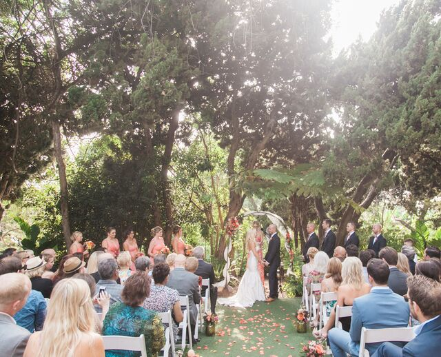 Superbe A Glamorous Garden Wedding At San Diego Botanic Garden In Encinitas,  California