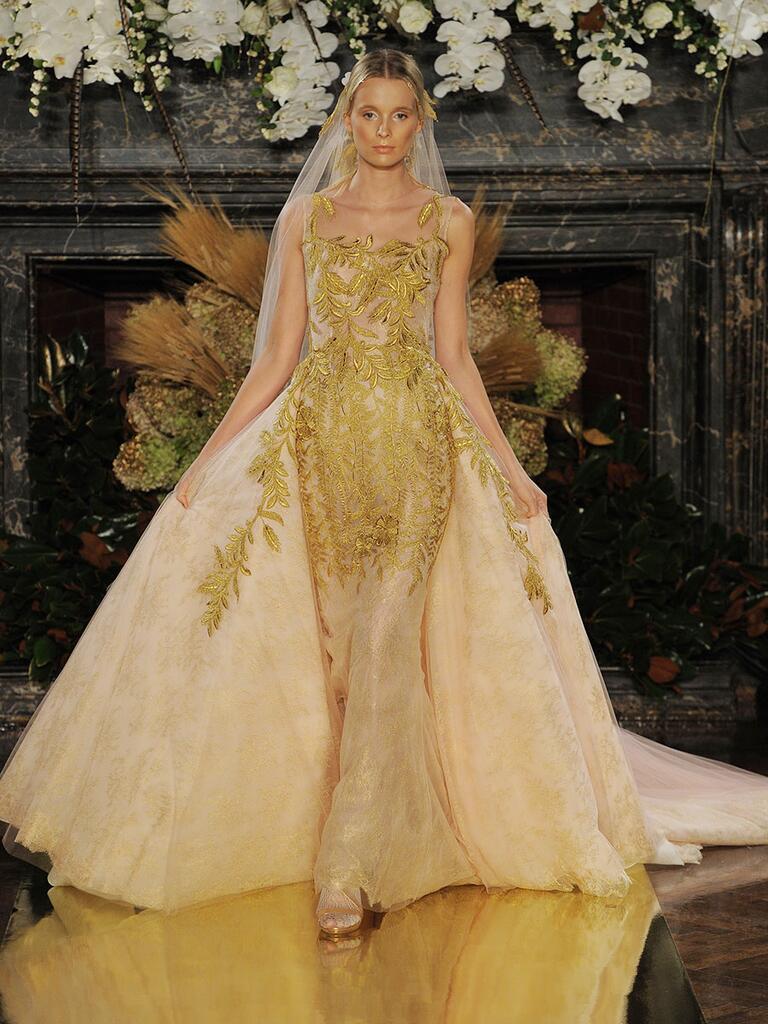 Yolan Cris wedding dress Fall 2017