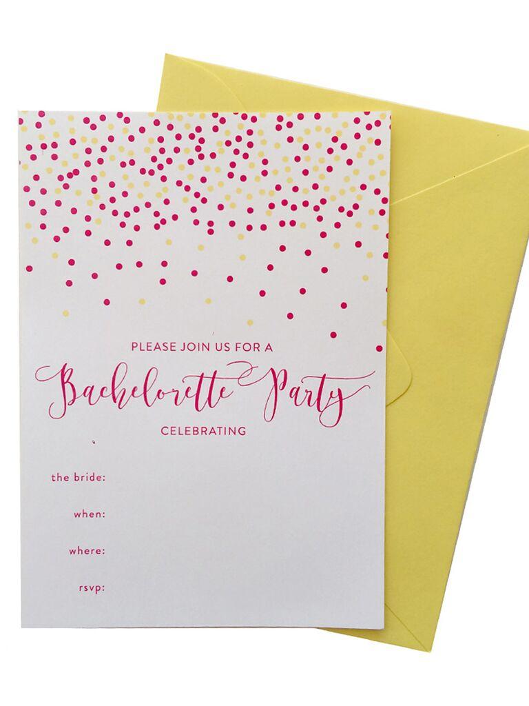 14 Printable Bachelorette Party Invitation Templates – Bachelorette Party Invite Templates