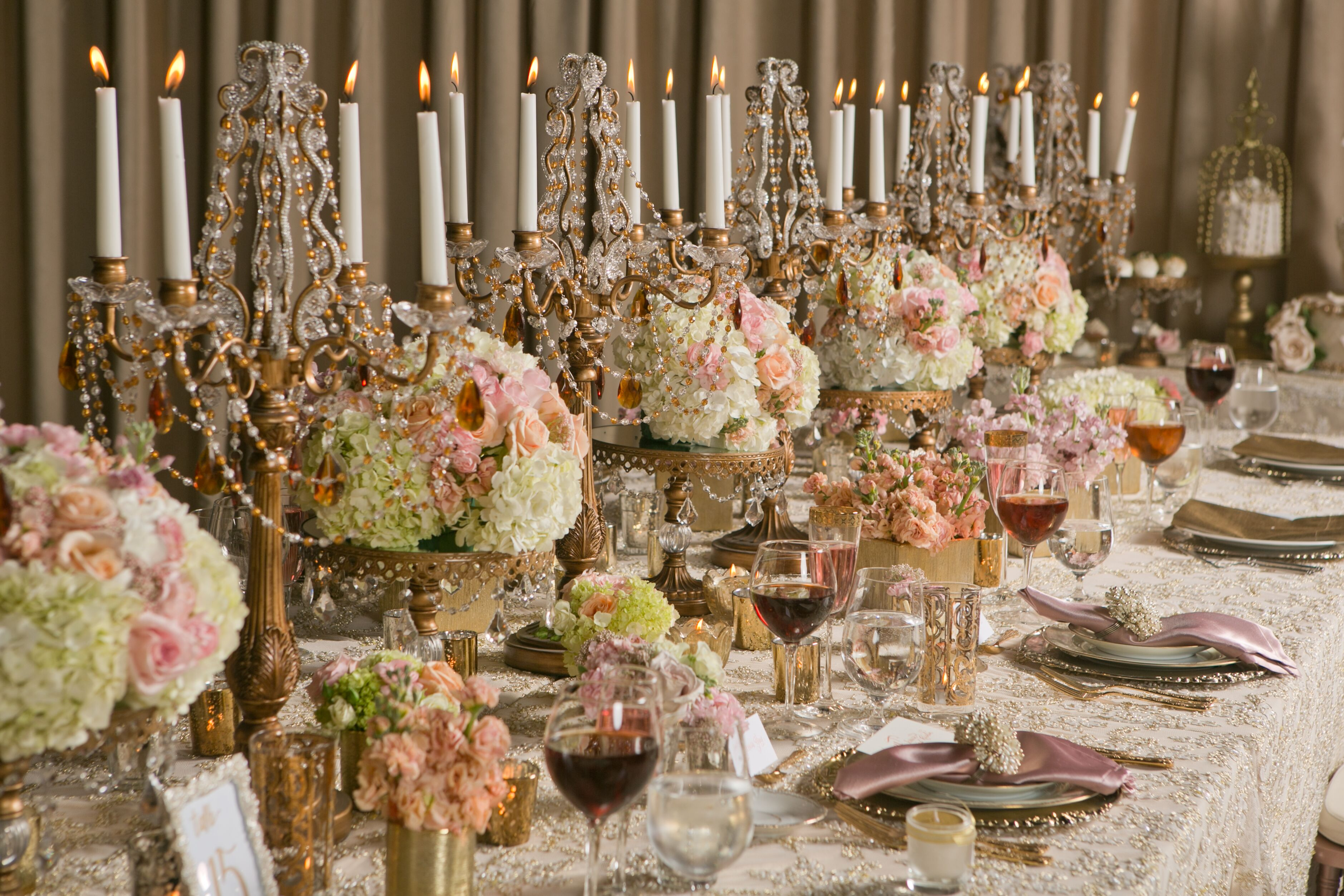 Rose gold details to steal for a wedding that s nothing