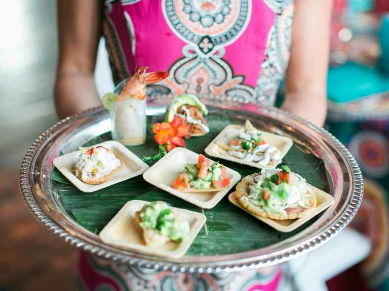 Fiesta-themed appetizers