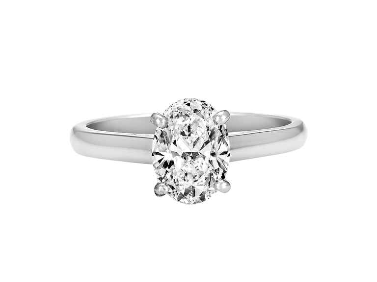 Oval Engagement Ring DeBeers